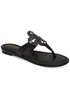 Charter Club Women's Ozella Flat Sandals, Created for Macy's Women's Shoes