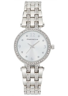 Charter Club Women's Pave Bracelet Watch 28mm, Created for Macy'