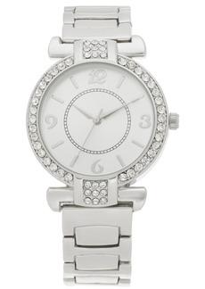 Charter Club Women's Silver-Tone Bracelet Watch 36mm, Created for Macy's