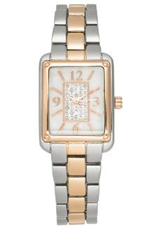 Charter Club Women's Two-Tone Bracelet Watch 24mm, Created for Macy's