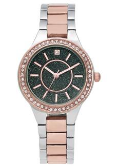 Charter Club Women's Two-Tone Bracelet Watch 32mm, Created for Macy's
