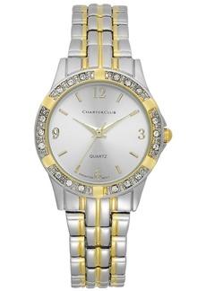 Charter Club Women's Two-Tone Bracelet Watch