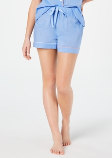 Charter Club Woven Cotton Pajama Shorts, Created for Macy's 8151635