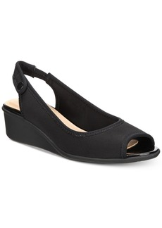 Charter Club Yameen Slingback Wedge Sandals, Created for Macy's Women's Shoes