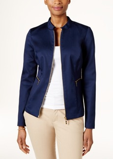 Charter Club Zip-Front Jacket, Only at Macy's