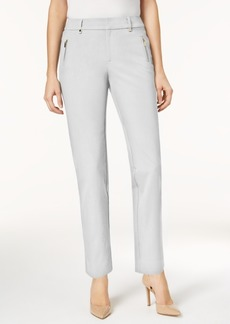Charter Club Zip-Pocket Ankle Pants, Created for Macy's