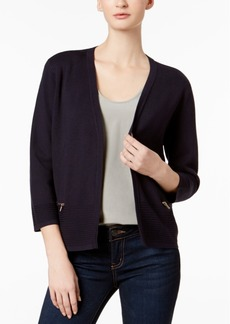 Charter Club Zip-Pocket Cardigan, Created for Macy's