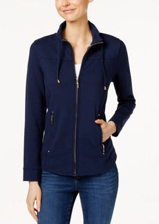Charter Club Zip-Up Jacket, Only at Macy's