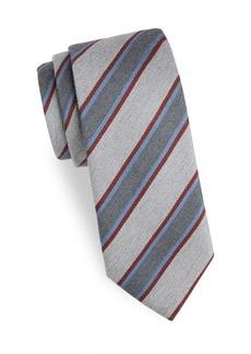 Charvet Linear Wool Tie
