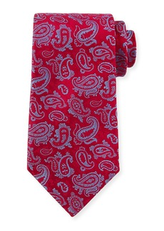Charvet Paisley-Print Silk Tie