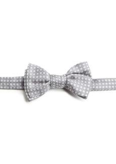 Charvet Small Pattern Silk Bow Tie