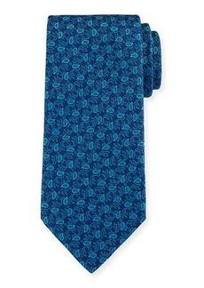 Charvet Small-Paisley Silk Tie