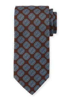 Charvet Spaced Medallion Silk Tie