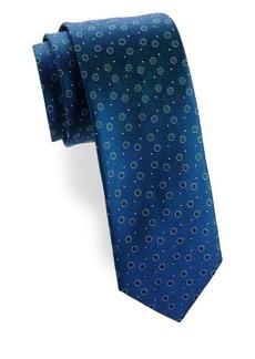 Charvet Split Peas Silk Tie