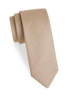 Charvet Textured Wool & Silk Tie