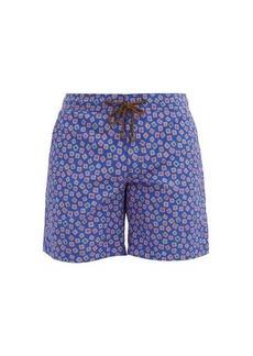 Charvet x Thorsun Abstract-print swim shorts