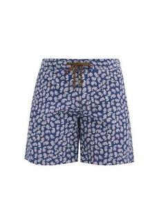 Charvet x Thorsun Paisley-print shell swim shorts