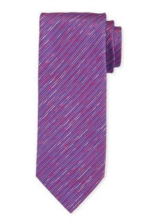 Charvet Contrast Thread Silk Tie