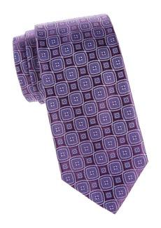 Charvet Diamond Woven Silk Tie