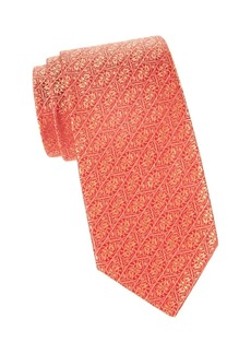 Charvet Scroll Jacquard Silk Tie