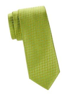 Charvet Neat Tonal Silk Tie
