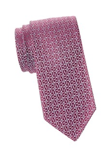 Charvet Graphic Silk Tie