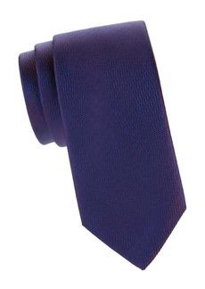 Charvet Herringbone Silk Tie