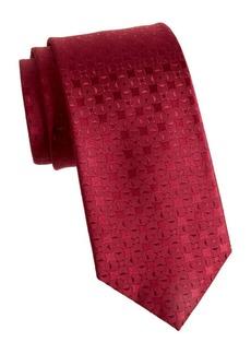 Charvet Interlocking Circle Silk Tie
