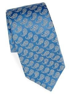 Charvet Jacquard-Print Silk Tie