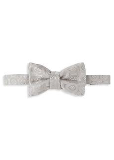 Charvet Large Silk Tonal Bow Tie