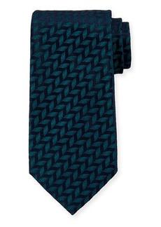 Charvet Leaves Silk Tie
