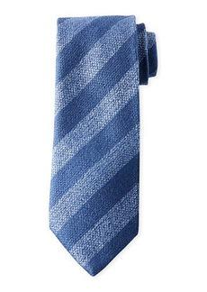 Charvet Men's Diagonal Stripe Silk Tie
