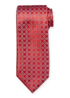 Charvet Men's Floral Medallion Silk Tie
