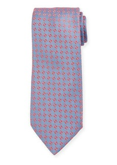 Charvet Men's Medium Neat Silk Tie