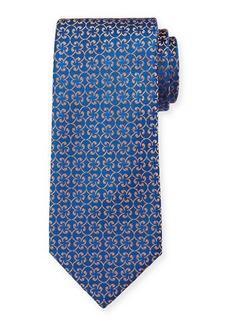 Charvet Men's Silk Floral Pattern Tie