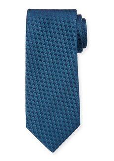 Charvet Men's Silk Small Waves Tie