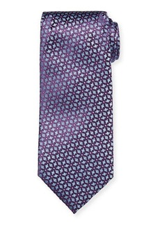 Charvet Men's Snowflake Silk Tie