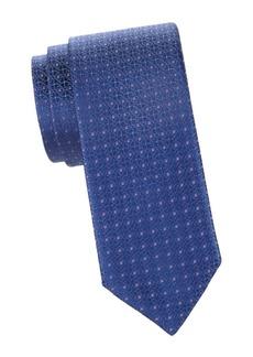 Charvet Micro-Dot Silk Tie