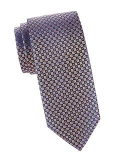 Charvet Mini Box Print Silk Tie