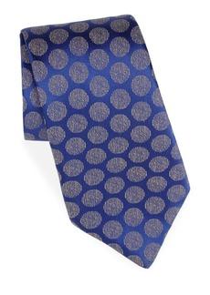 Charvet Silk & Linen Moon Tie