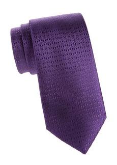 Charvet Neat Dash Silk Tie