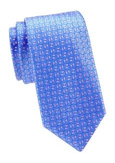 Charvet Neat Fleck Silk Tie