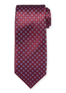 Charvet Neat Medallion Silk Tie