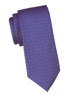 Charvet Neat Micro Dot Silk Tie