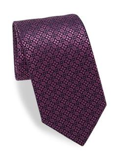 Charvet Alternating Patterned Silk Tie