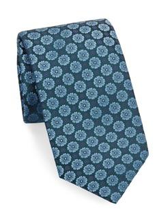 Charvet Peony Silk Tie