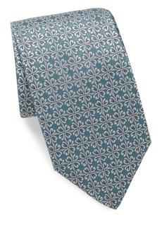 Charvet Print Silk Tie