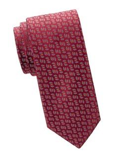 Charvet Sanded Leaf Silk Tie