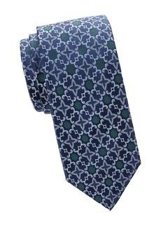 Charvet Sanded Ram Horn Silk Tie