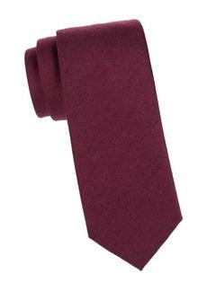 Charvet Silk & Wool Melange Tie